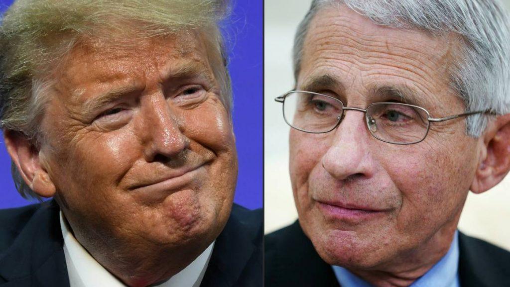 Waarom Trump dreigt de populaire Dr. Fauci te ontslaan