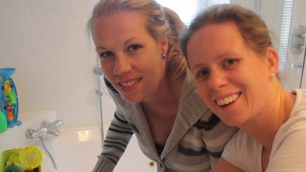 Vriendinnen Jolanda en Marjolein brachten zes keer elkaars kinderen ter wereld