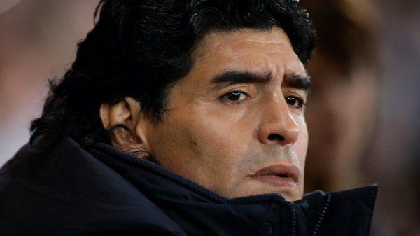 Voetballer Diego Maradona