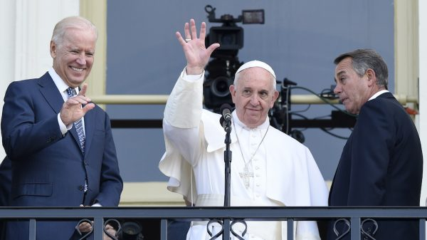 Paus Franciscus Joe Biden