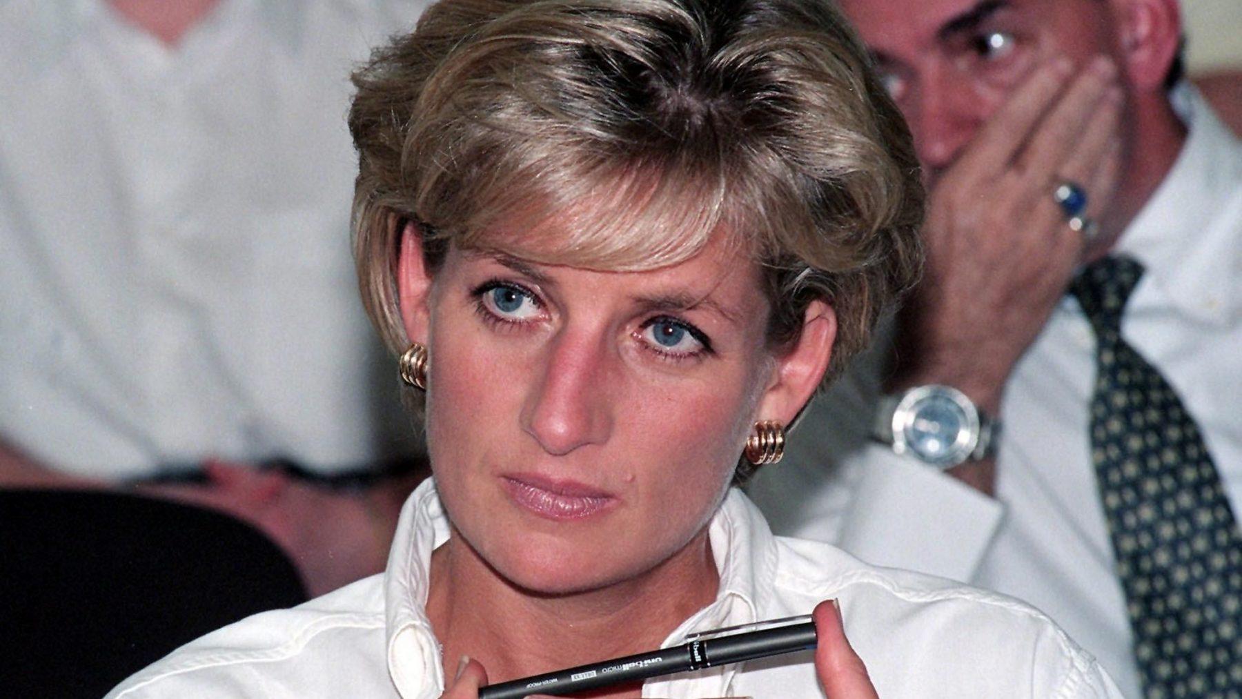 briefje van Diana gevonden
