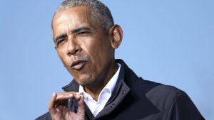 Thumbnail voor Obama mist het vliegen in de Air Force 1: 'Nooit wachten op andere passagiers'