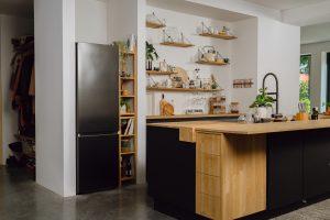 Lifestyle RB7300 landscape black koelkast