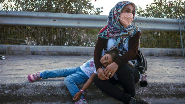 Omstandigheden voor migranten in Griekenland zijn 'onmenselijk'