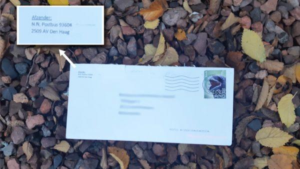 poederbrieven poederbrief