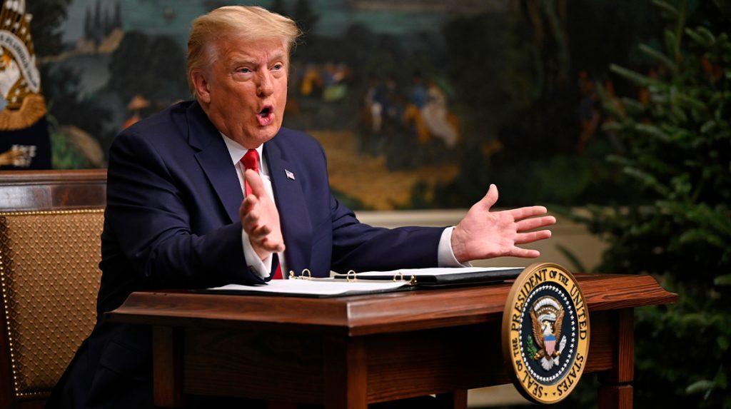 Donald Trump gaat weer viral, ditmaal onder de hashtag #DiaperDon