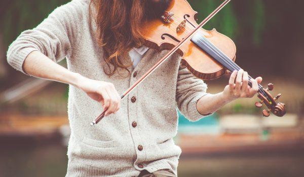gezellig viool