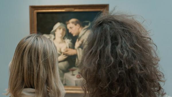 Cultuursnuivers zijn in het Frans Halsmuseum in Haarlem