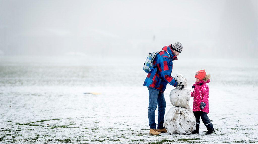 Winterse taferelen- zaterdag kans op de eerste sneeuwvlokken