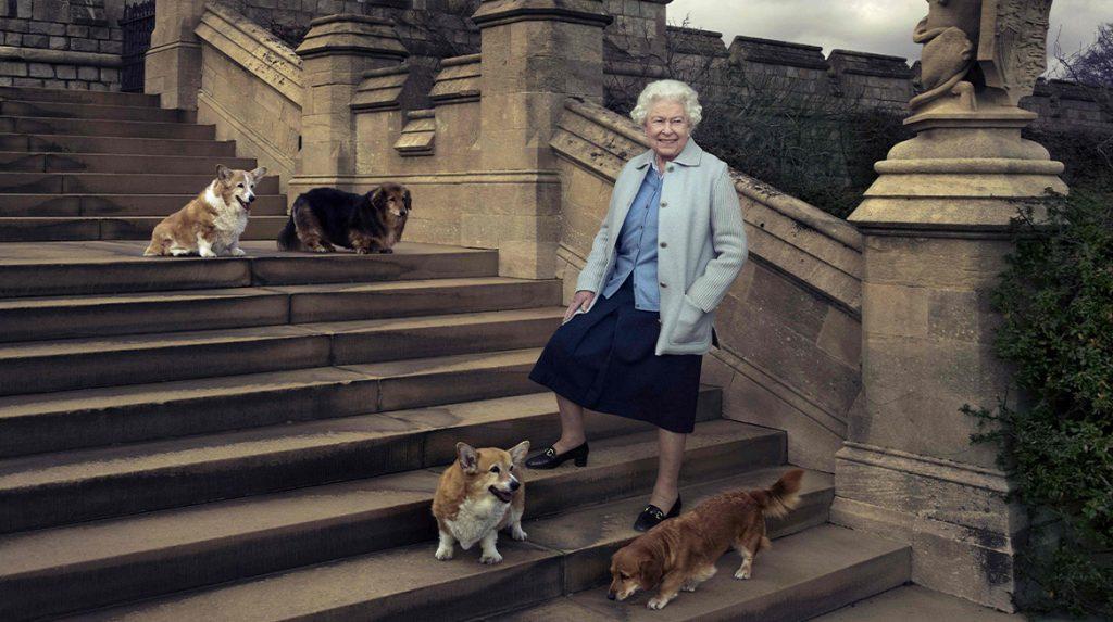 Koningin Elizabeth in diepe rouw om verlies trouwe viervoeter_