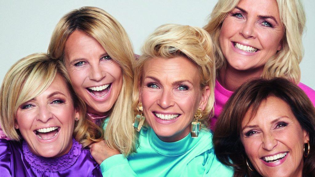 Lekker lang houdbaar: Anita, Caroline, Irene en Astrid over hun 30 jaar in 'het wereldje'