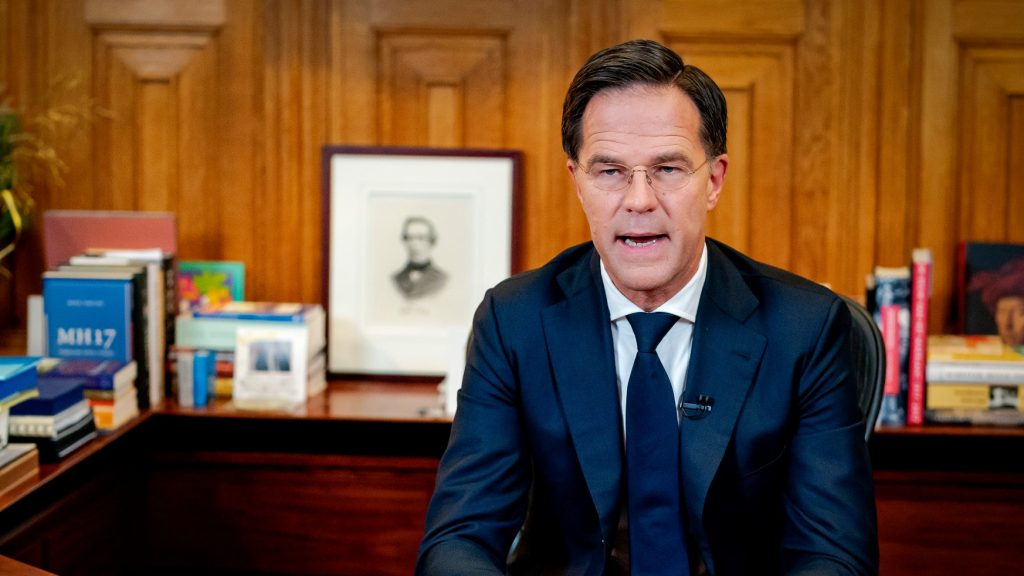 Premier Mark Rutte kondigt lockdown aan, uitzondering voor kerst