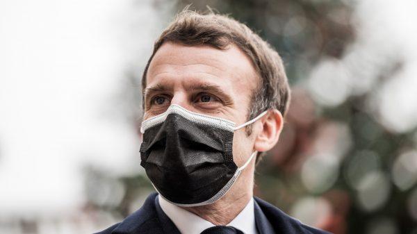 Macron positief getest