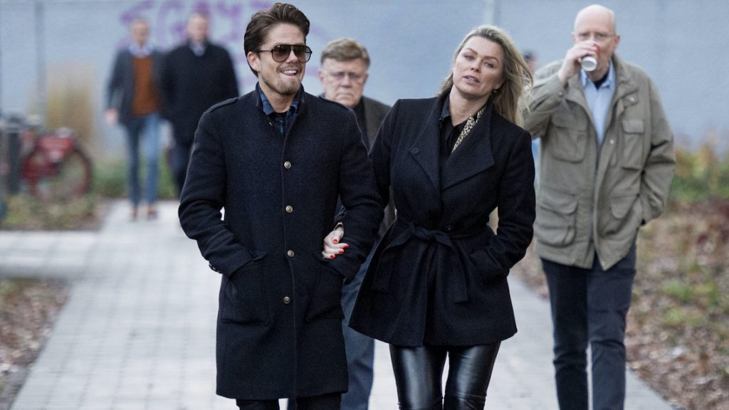 Bridget Maasland en André Hazes waren vorig jaar érg blij na hun verloving