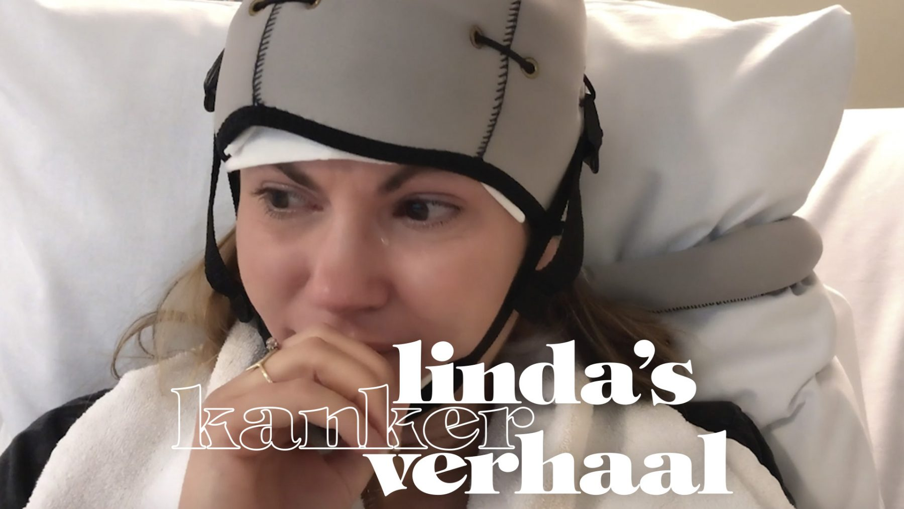 Linda Hakeboom deelt in vlog 5 haar eerste chemotherapie