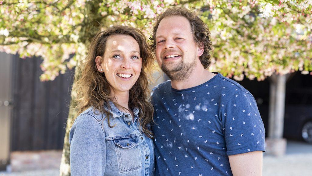 Boer Jan en Nienke in Boer Zoekt Vrouw