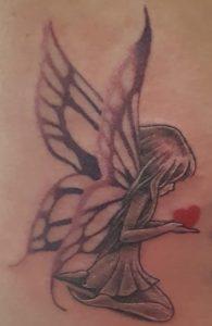 tatoeage Willem Lily