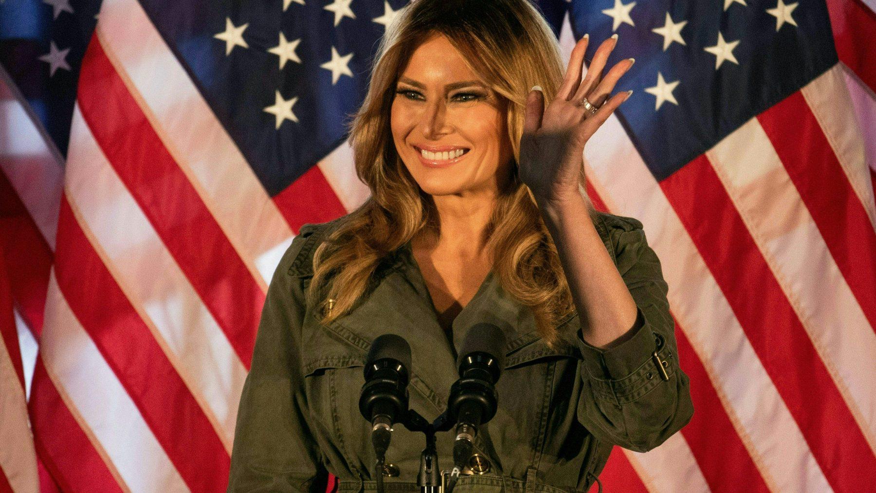 """Verzoenpoging van Melania Trump """"Passie mag niet veranderen in geweld"""""""