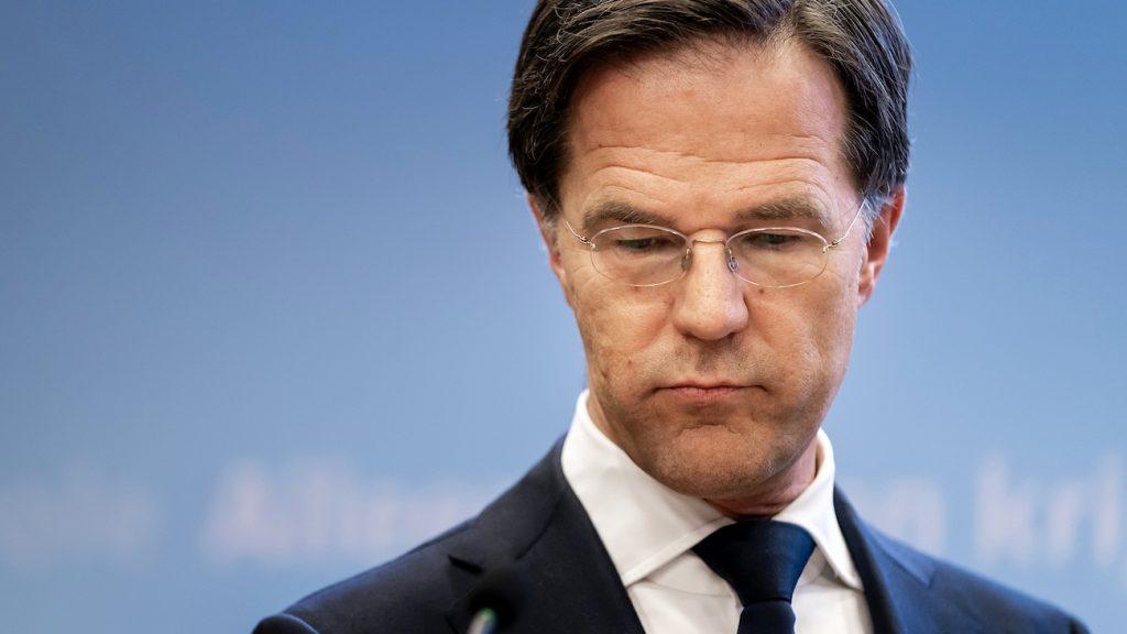 Mark Rutte persconferentie coronavirus