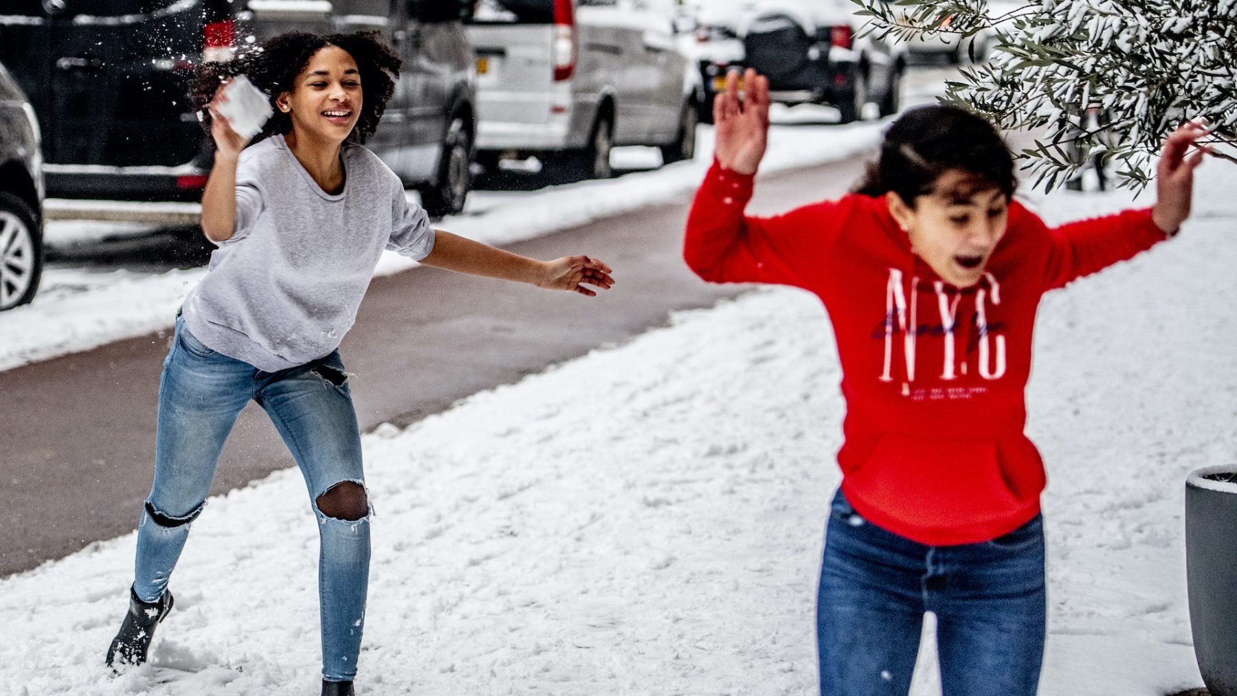 Sneeuw in het hele land verwacht