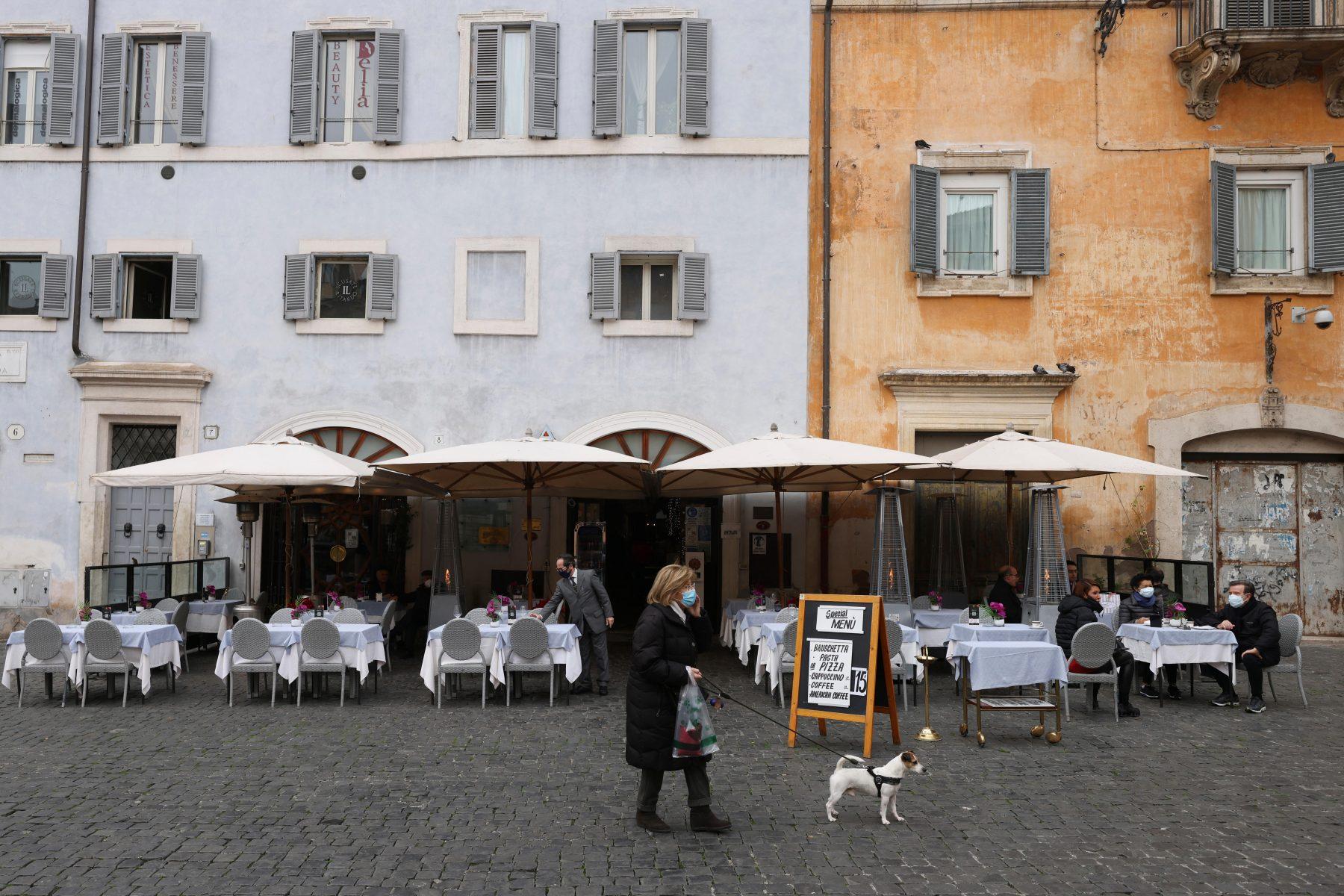 Italiaanse restaurants openen deuren