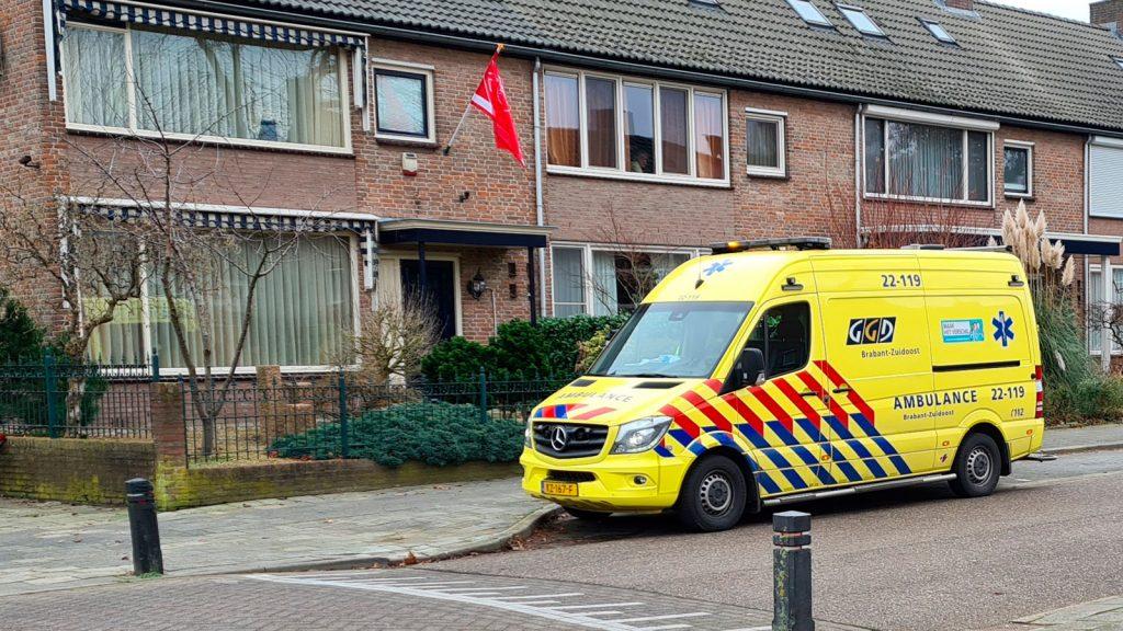 ambulance verplaatst