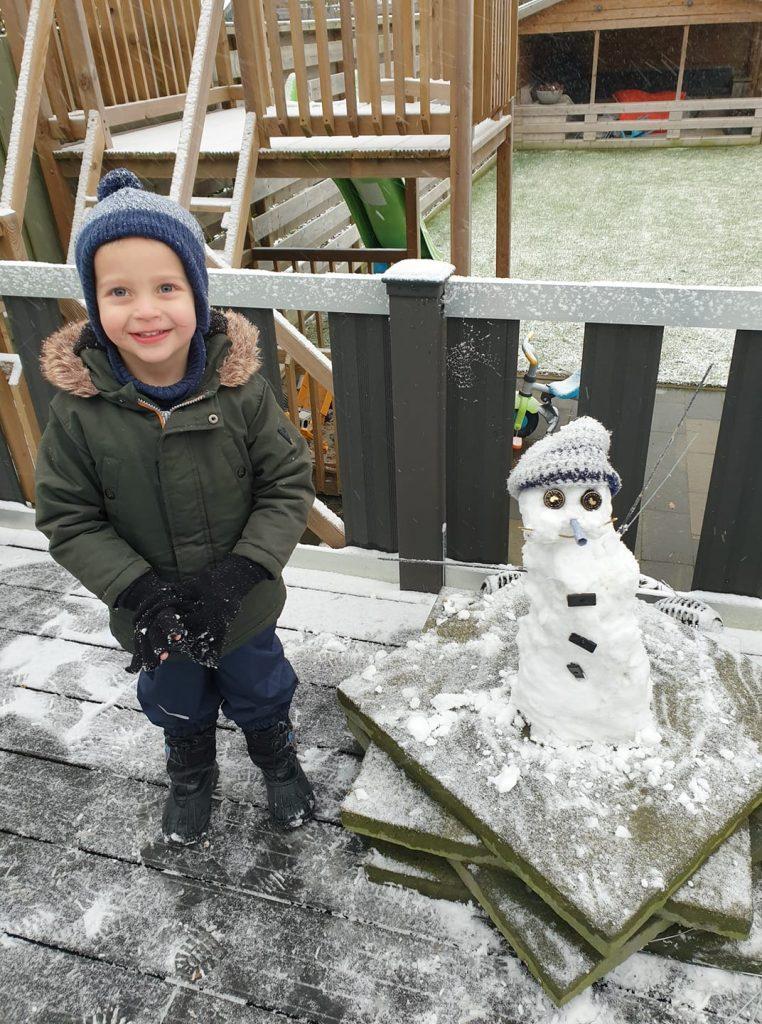 Sneeuwpop Jolanda