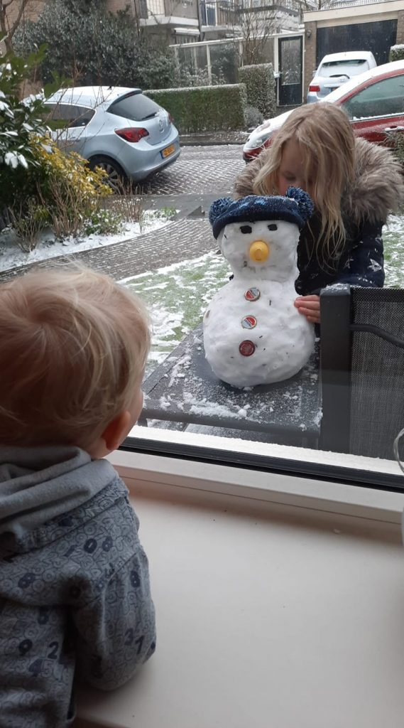 Sneeuwpop Krista