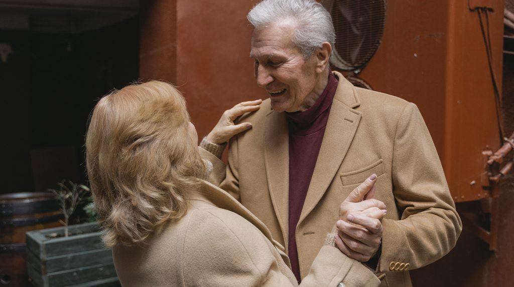 Dansen opa's en oma's TikTok