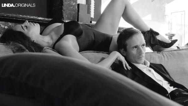 Backstage bij de sexy shoot van Yolanthe Cabau en Michiel Vos