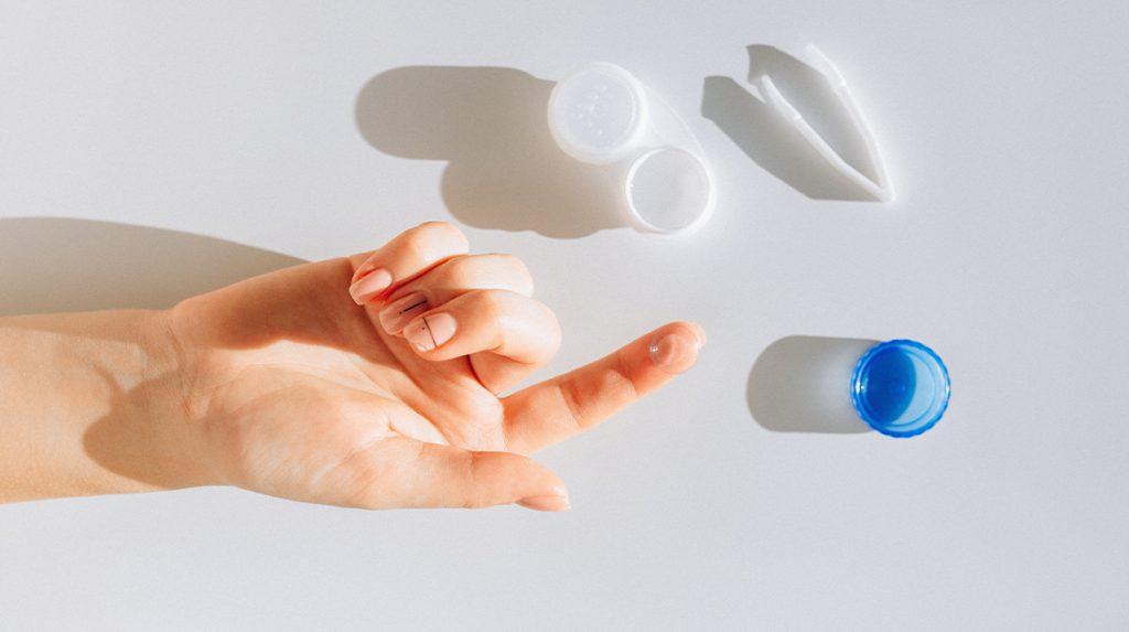 Oogarts over contactlenzen