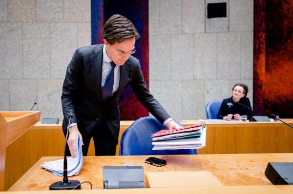 Mark Rutte toeslagenaffaire