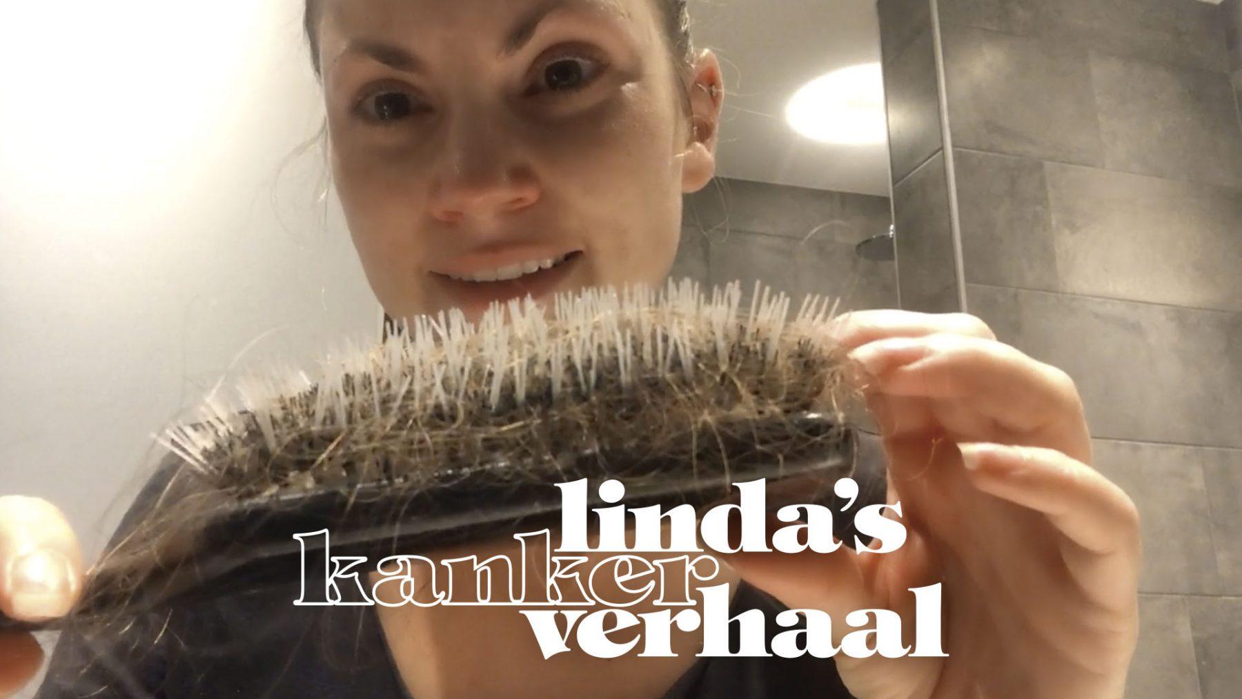 In vlog 7 toont Linda Hakeboom vermoeidheid, slapeloze nachten en haarverlies