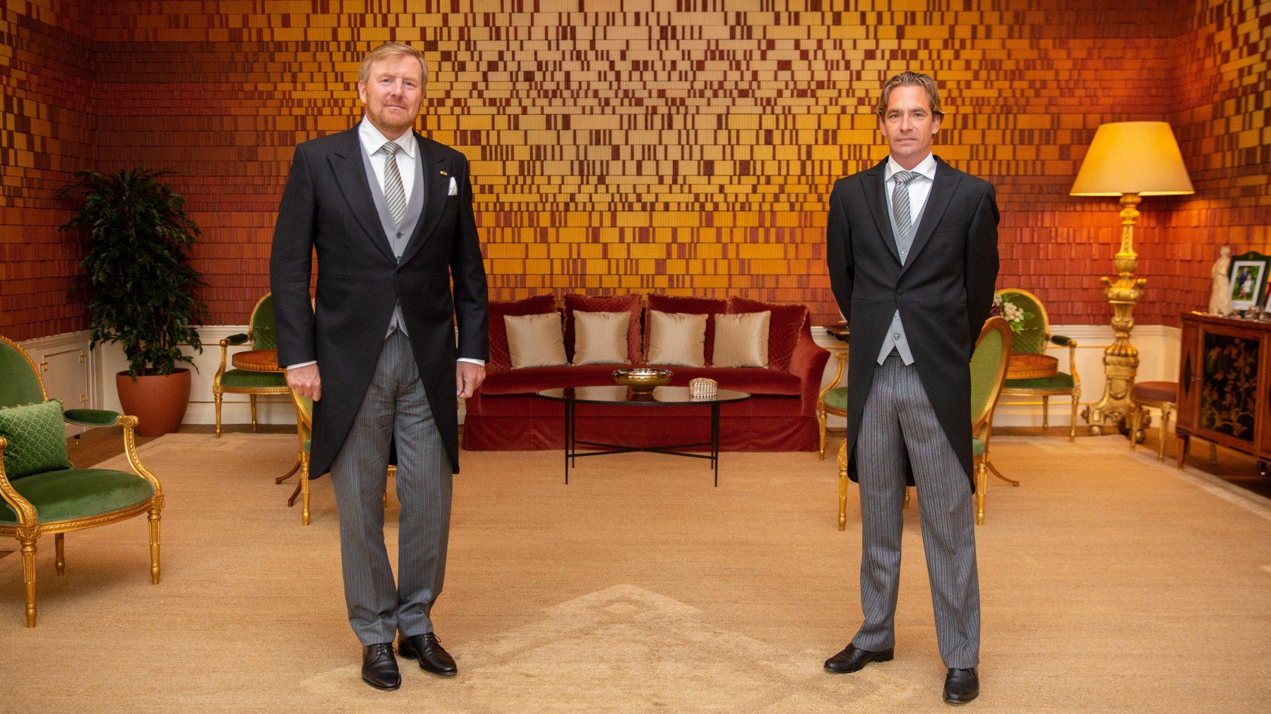 Benoemt door de Koning: Nieuwe minister Economische Zaken