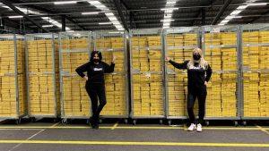 logistieke partner LINDA.foundation blij met nieuwe logistieke partner