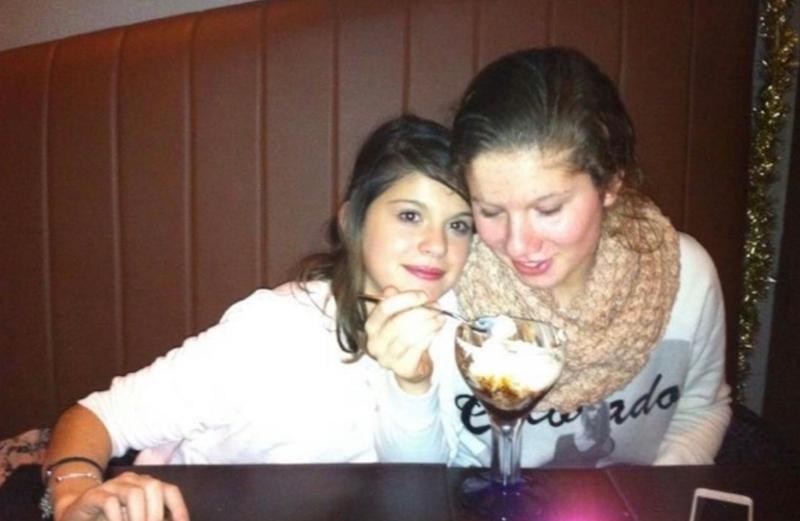 Rowie en zus Esmay