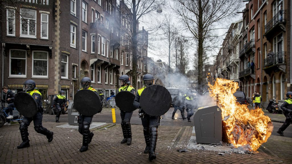 protest Amsterdam