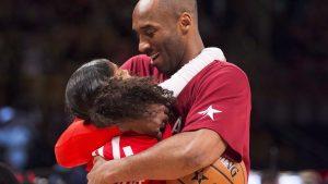 Kobe Bryant met dochter Gianna