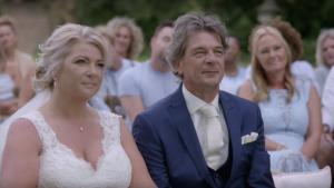 MAFS Married at first Sight bruiloft Monique Aron Rene speech