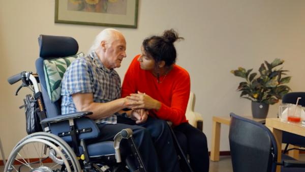 Dementie 'Zoekend naar de wil van Willy': een intieme documentaire over dementie