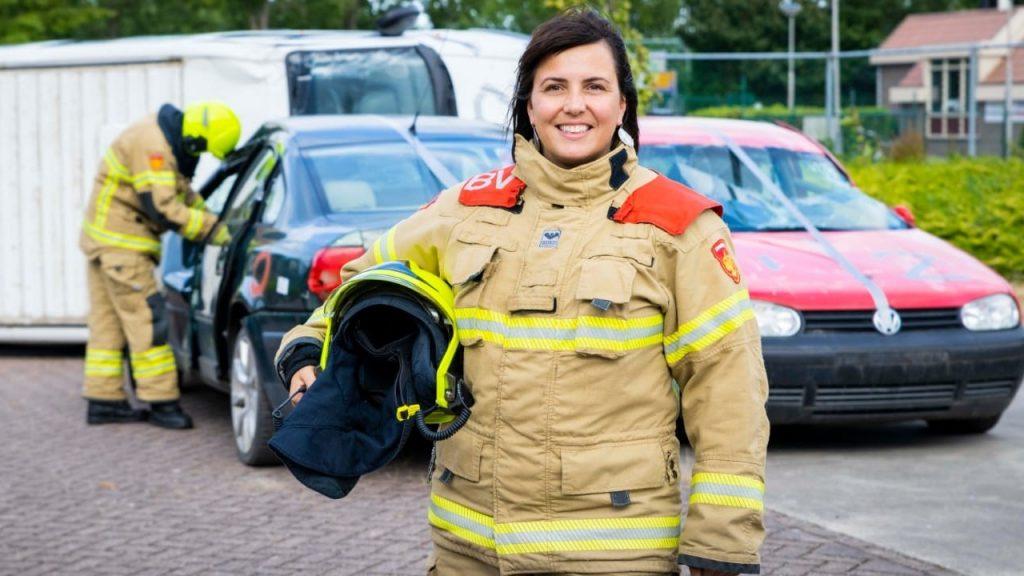Joanna is bevelvoerder bij de brandweer: 'Ik moest me bewijzen'