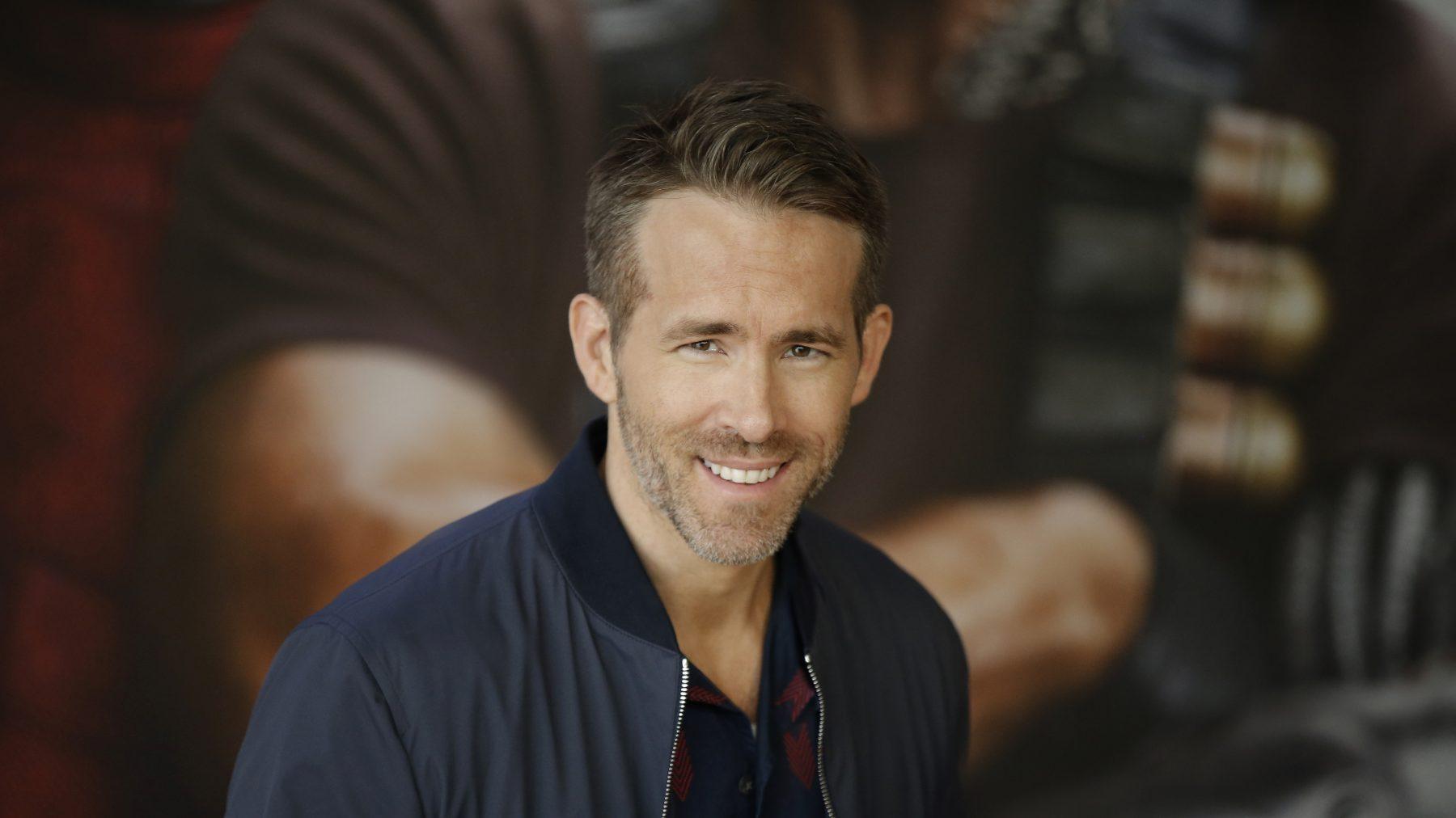 Ryan Reynolds brief van fan