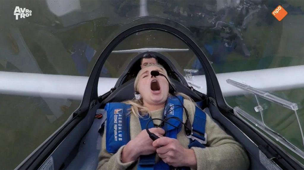 Molloot Ivo over 'Wie is de Mol_'- 'Je kunt op zijn kop gaan hangen in zweefvliegtuig, maar Renée is de mol'