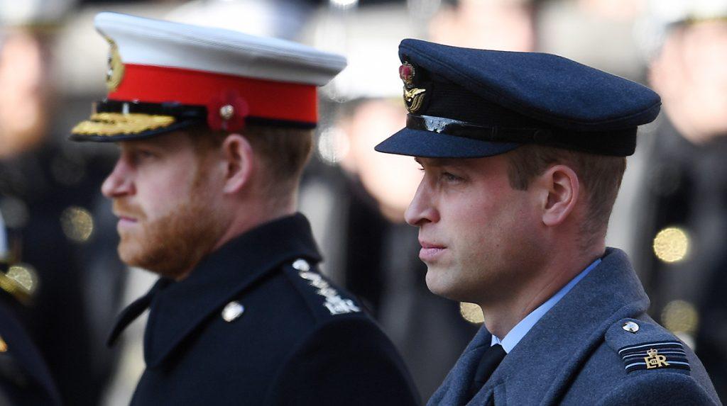 Toon Prins Harry in verklaring 'megxit' maakt broer William 'boos en bedroefd'