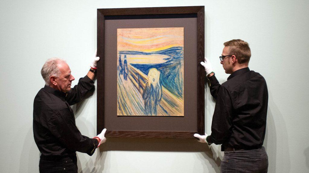 Museum ontdekt geheim achter boodschap op schilderij De Schreeuw