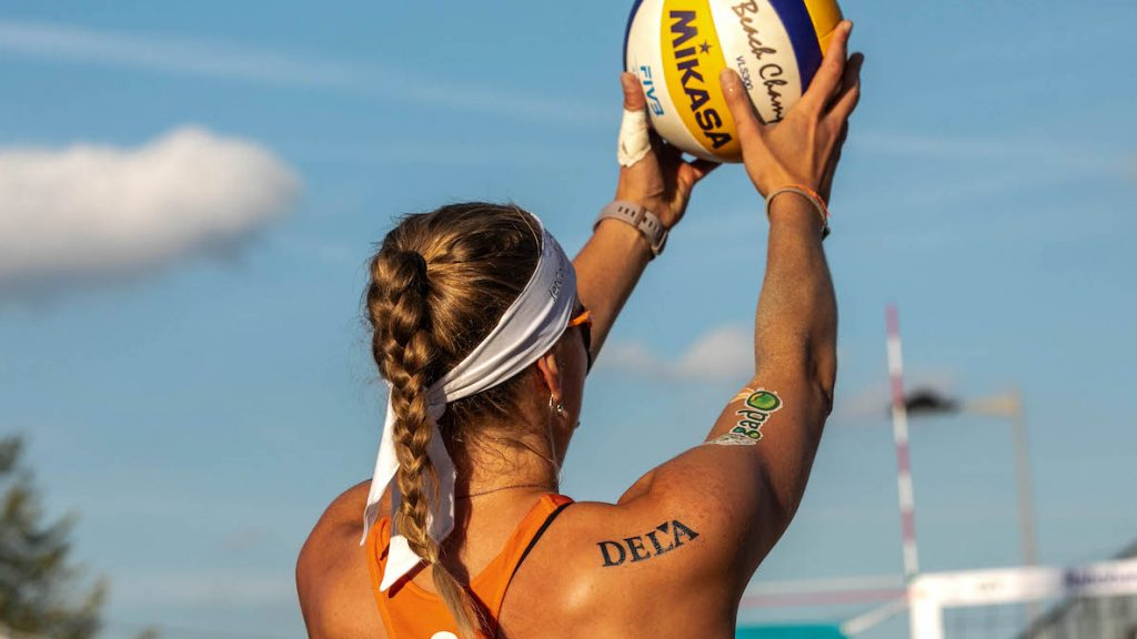 tenue beachvolleybalsters