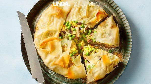 Marokkaanse quiche met kip en rozijnen, lekker én makkelijk