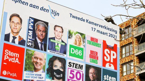 Ze staan er weer: de verkiezingsborden