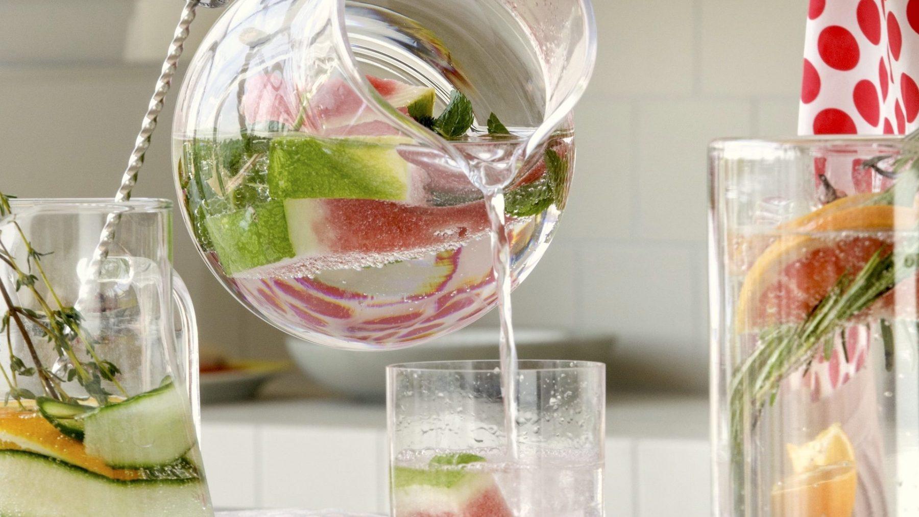 Recepten zodat je niet vergeet water te drinken