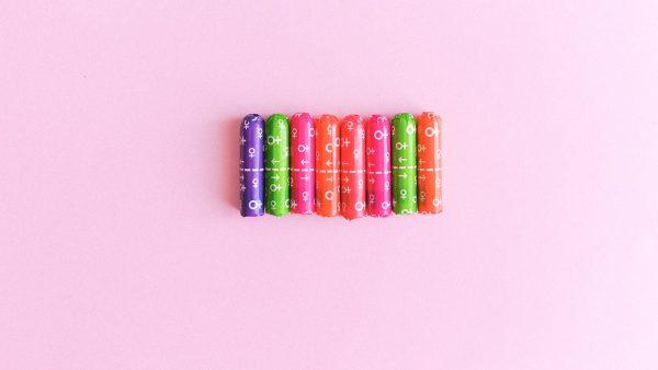 VU gratis maandverband tampons menstruatieproducten Pexels